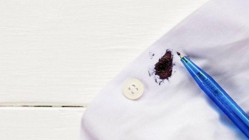 Лучшие способы вывести пятно от шариковой ручки с одежды