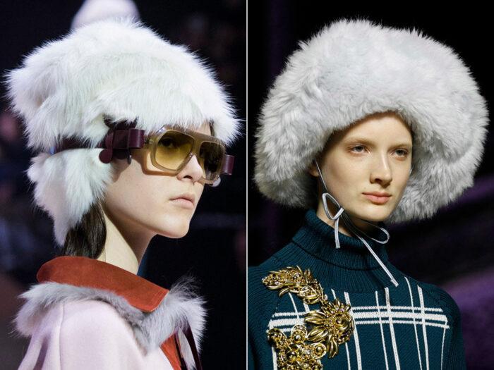 Модные тенденции зимних головных уборов 2020-2021