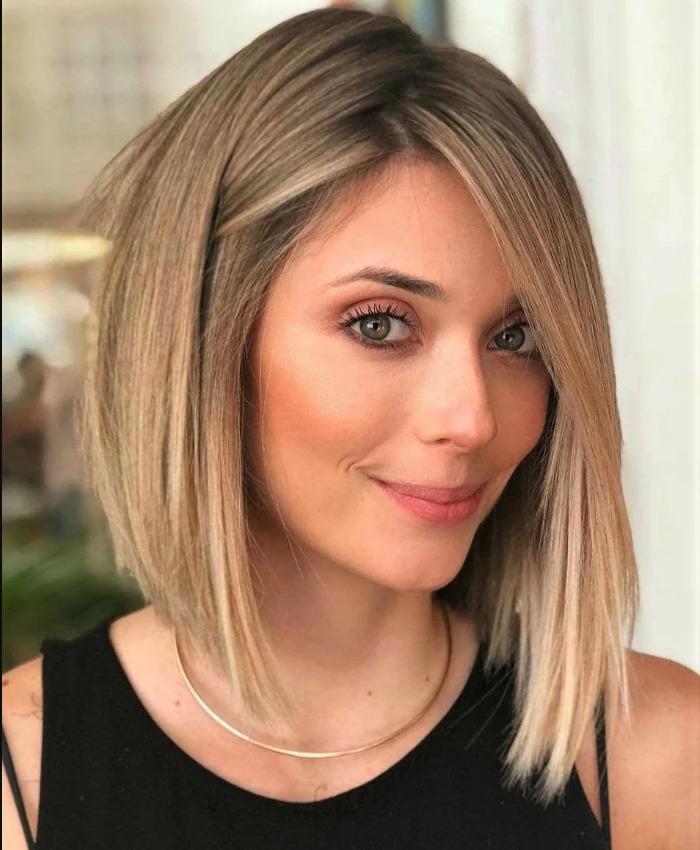 Стрижки на средние волосы 2020 года, не требующие укладки (90 фото)