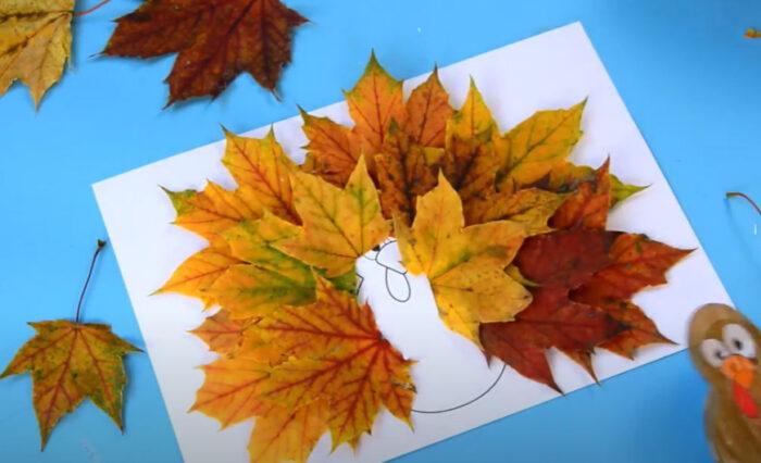 """15 поделок на тему """"Осень"""" в детский сад из природного материала"""